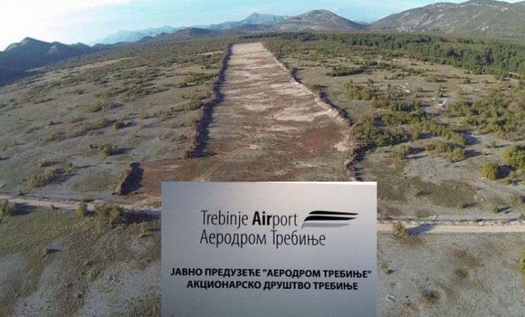 FANTOM U ZRAKU: Aerodromi RS ponovo troše 100.000 KM za trebinjsku pistu