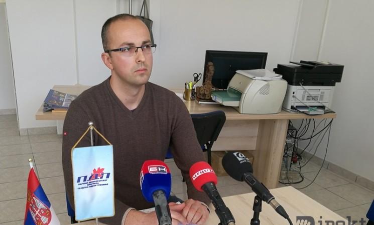 Saša Borjan kandidat za gradonačelnika Trebinja