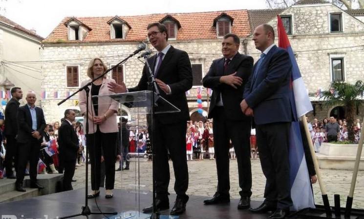 Vučić naš nasušni: Milioni iz Srbije stižu u Hercegovinu