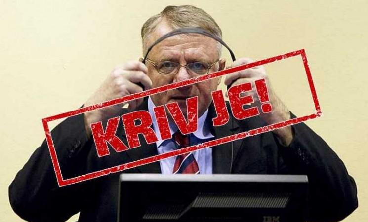 Vojislavu Šešelju 10 godina zatvora