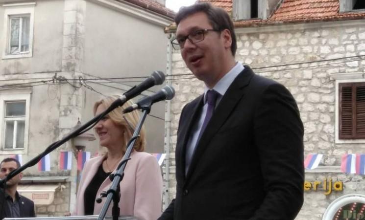 Aleksandar Vučić počasni građanin Trebinja