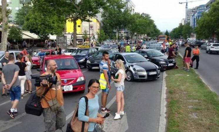 Nastavljeni protesti zbog cijena goriva u BiH, u Hercegovini mirno