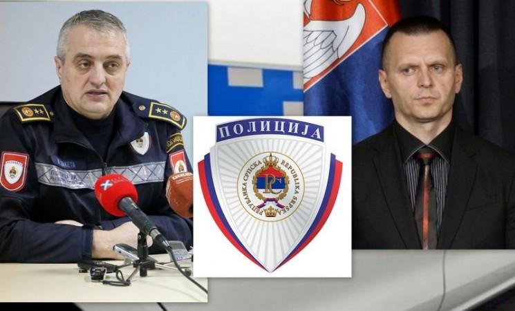 Lukač smijenio Žarka Laketu - Siniša Laketa novi načelnik PU Trebinje