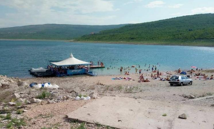 Vrelina na Bilećkom jezeru
