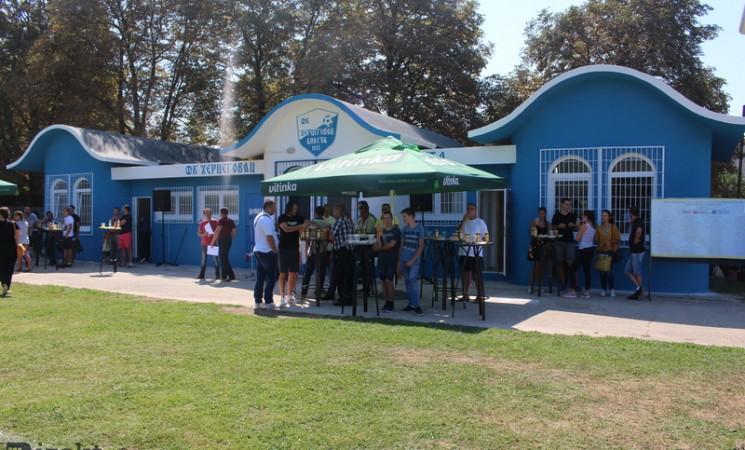 Bileća: Zahvaljujući mladima obnovljene svlačionice za fudbalere