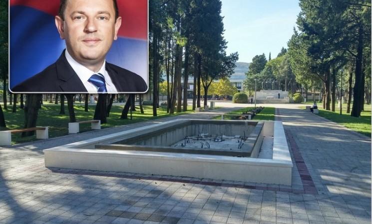 Gradonačelnik Trebinja daje 101.000 maraka za fontanu