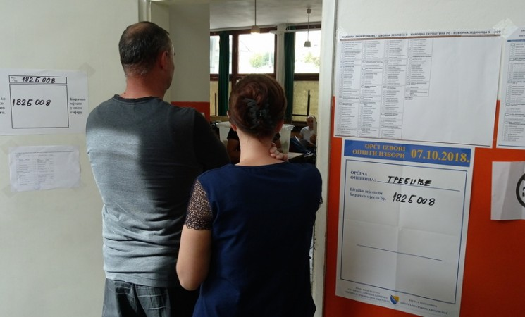 Izbori u Trebinju: Do 15 časova glasalo 38,51 birača