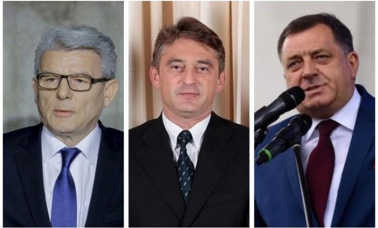 Prvi rezultati CIK-a: Dodik, Džaferović i Komšić novi članovi Predsjedništva BiH
