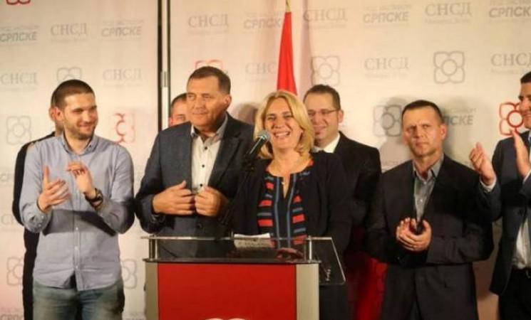 Izvijesna pobjeda Željke Cvijanović