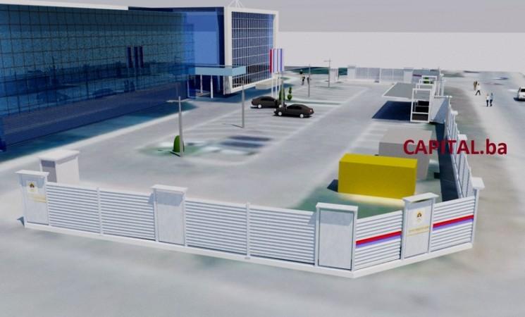 Dodik podiže zid od 2,5 metra oko svog sjedišta u Istočnom Sarajevu