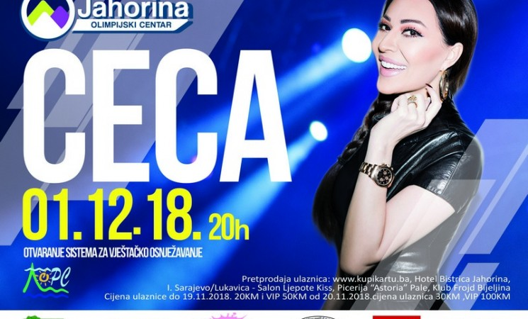 Tender za Cecin koncert raspisan skoro dva mjeseca nakon što je promovisan