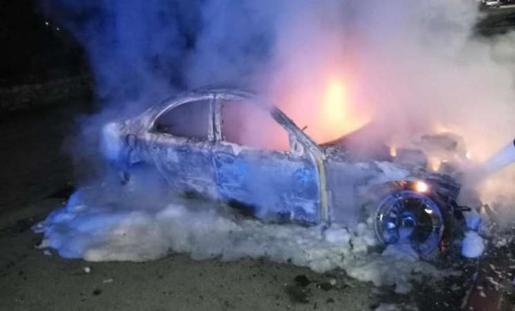 Trebinje: Izgorjeli automobil u vlasništvu policajca
