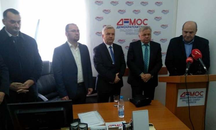 Čubrilovićev DEMOS okuplja odbornike u trebinjskoj Skupštini