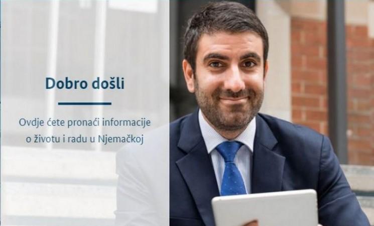 Njemačka vlada pokrenula stranicu na bosanskom jeziku za lakše zaposlenje