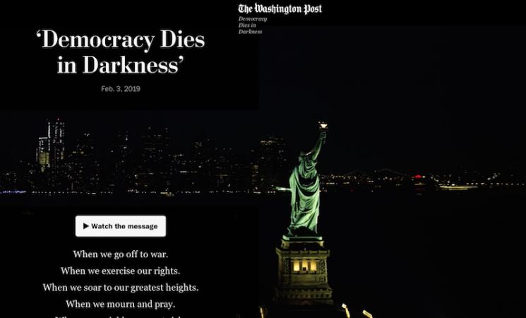 Demokratija umire u tami