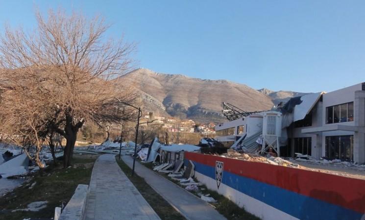 Štab za vanredne situacije Trebinja: Građani bez potrebe da ne izlaze iz objekata
