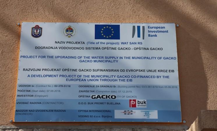 Vodosnabdevanje u opštini Gacko:  Decenije kanistera i predizbornih obećanja