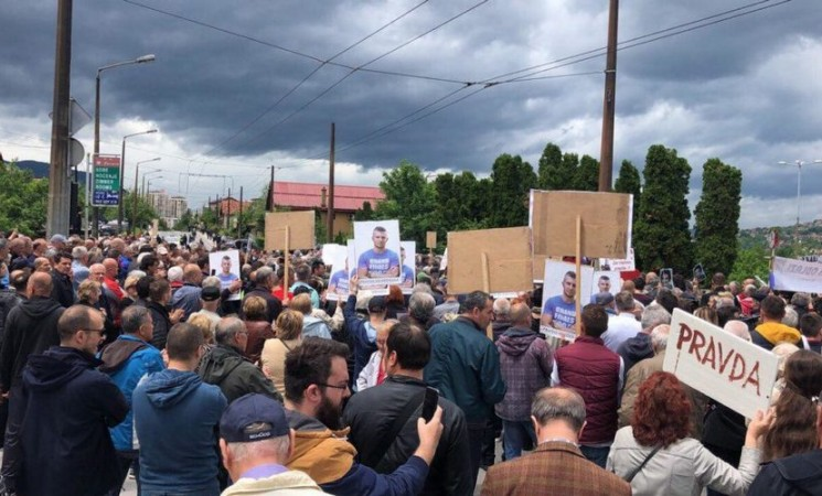 Protest u Sarajevu: VSTS ne haje već imenuje sudije iz afera iz prethodnih godina