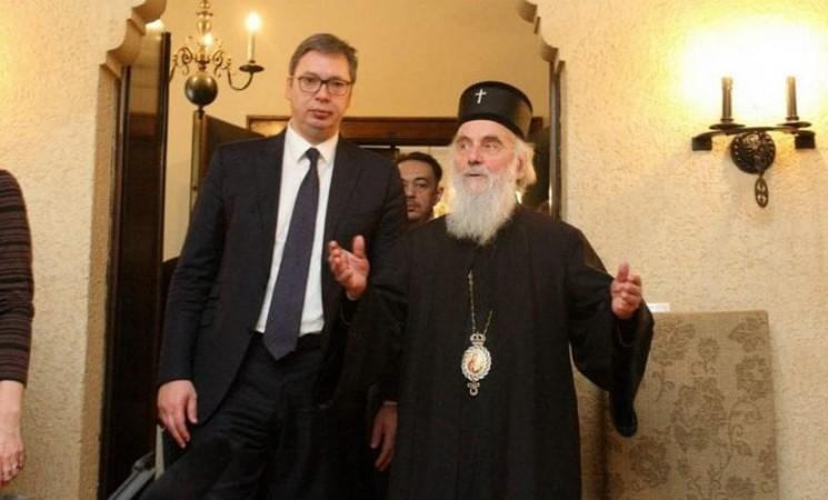 Vučić pretio vladikama poverljivim papirima