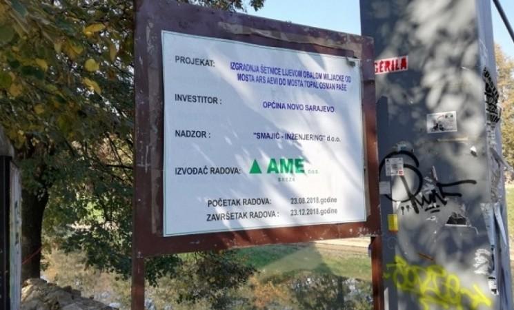"""Demanti firme """"Ame Breza"""": Nismo učestvovali u ''malverzacijama"""" i nije došlo do pronevjere novca tokom obnove Vilsonovog šetališta"""