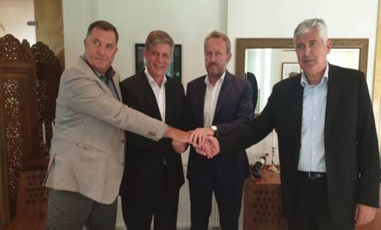 Izetbegović, Čović i Dodik dogovorili formiranje Vijeća ministara
