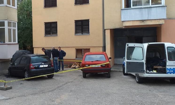 Požar na Vukovićevom autu podmetnut