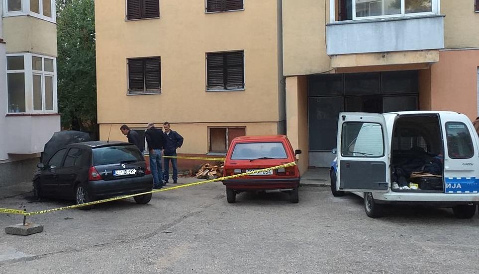 Gorio auto zamjenika načelnika PU Trebinje