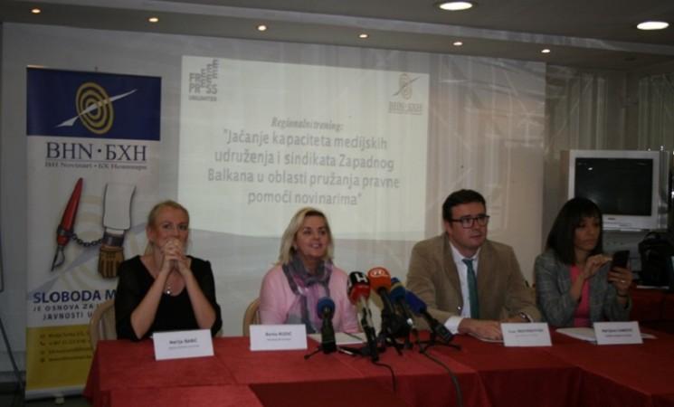 Novinari Zapadnog Balkana: Nekažnjavanje napada na novinare je nedopustivo!
