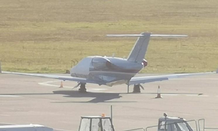 Stigao novi avion Srpske (FOTO)