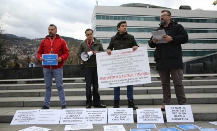 Na Svjetski dan borbe protiv korupcije policija štiti korupciju