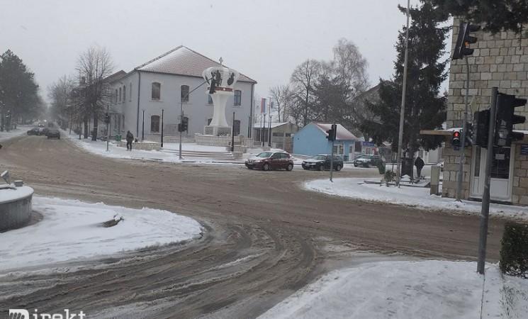 Pao snijeg u Hercegovini