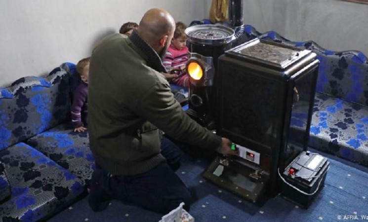 Zima u Siriji: ljuske pistacija za malo topline