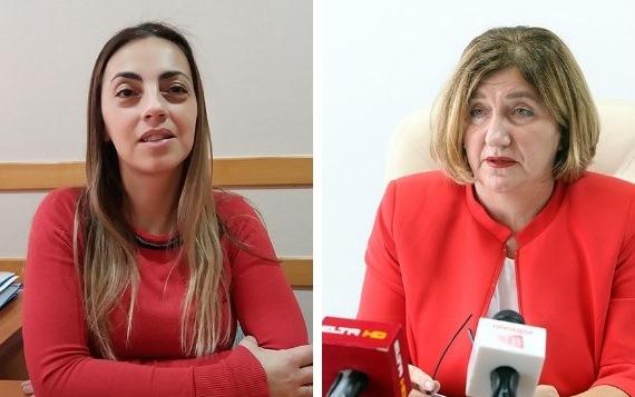 Gordana Jekić i Slavica Popović