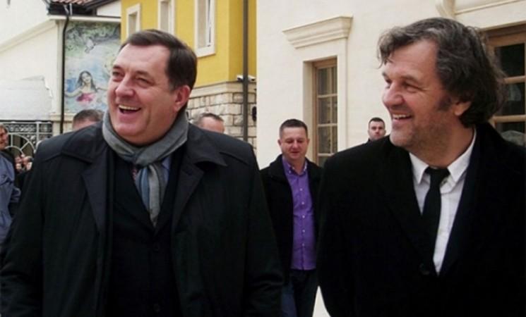 Revizori utvrdili da je Kusturica nezakonito dobio 350.000 KM od RS