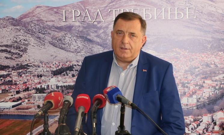 Dodik u Trebinju: Sve što je Drašković iznio o vlasti je gola laž