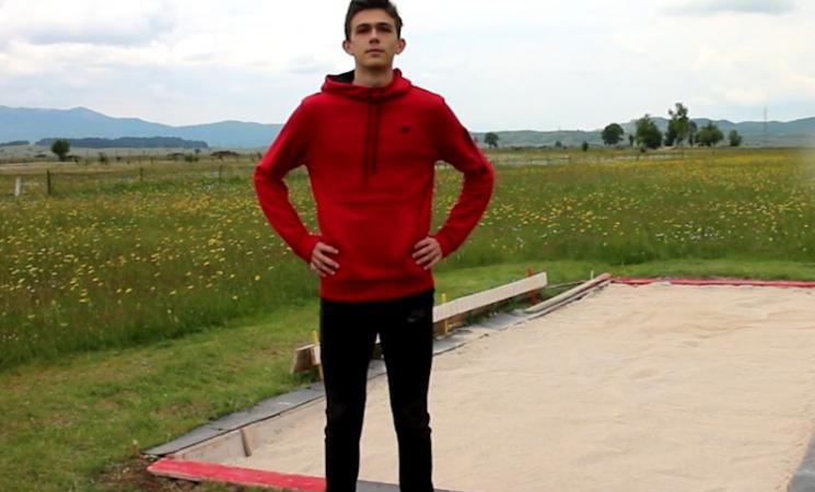 Mladi atletičar Igor Zelenović - još koji skok da od nade postane šampion (VIDEO)
