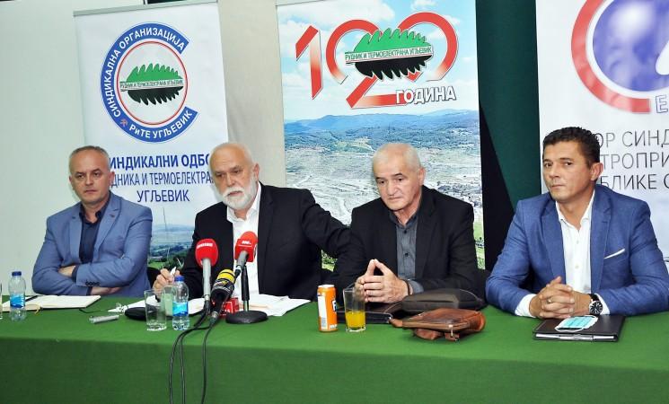 Radnici RiTE Gacko i Ugljevik najavili štrajk