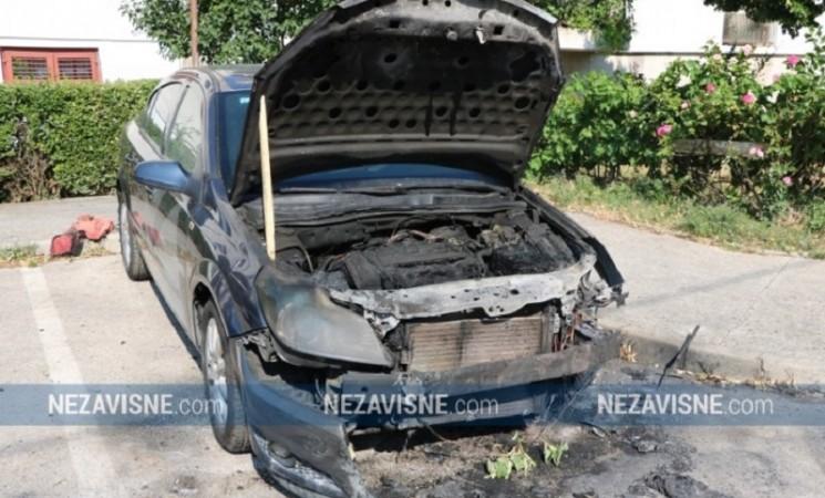 Trebinje: Zapaljen auto bivšeg direktora HET-a Marka Mitrovića