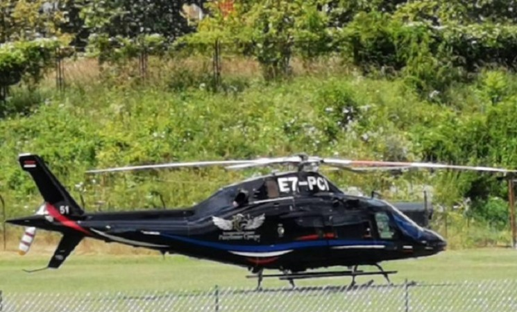 Višković: Mene niko ne pita za helikopter