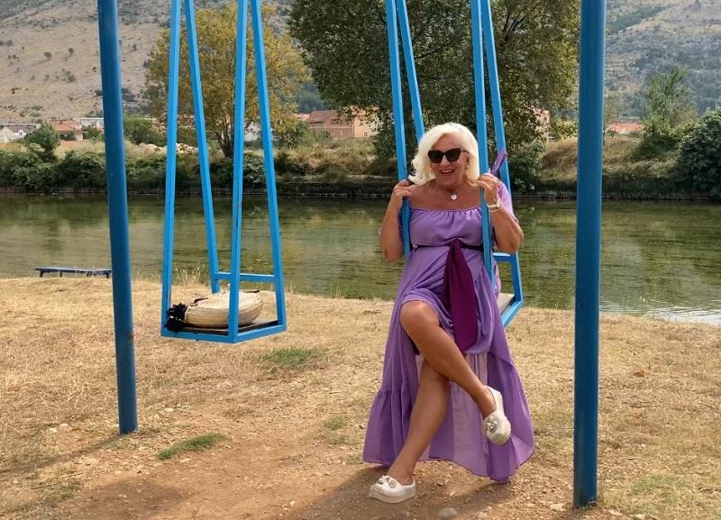 Mira Bokun na bregovačkom bazenu