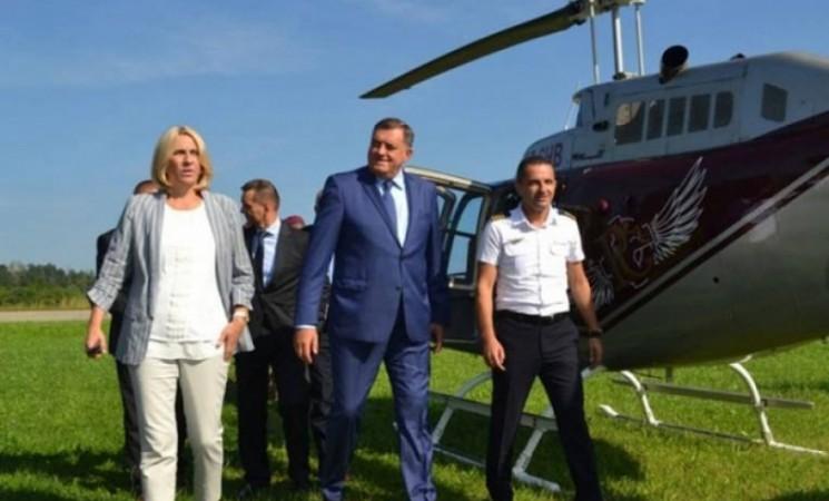 Za deset dana izborne kampanje helikopter Vlade RS sedam puta letio na predizborne skupove SNSD-a