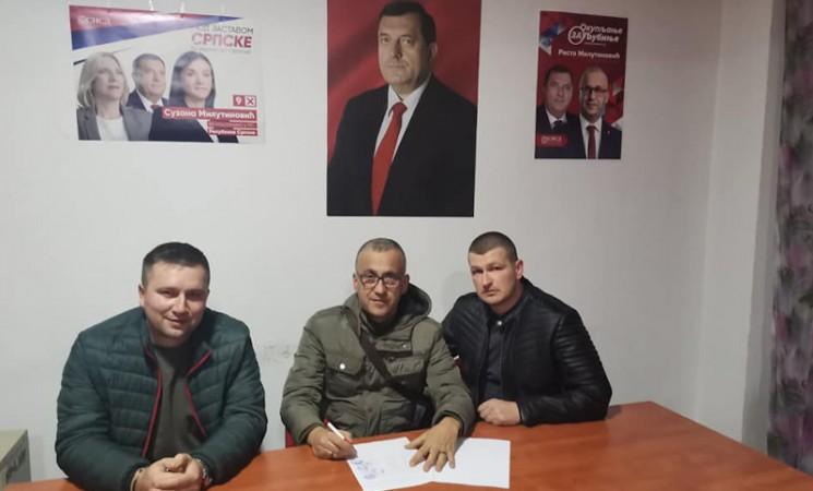 PDP u Ljubinju i zvanično u koaliciji sa SNSD-om