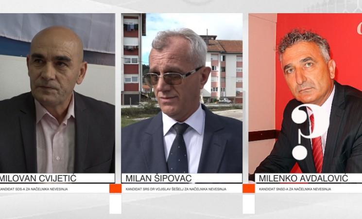 Direkt izbori: Šta poručuju kandidati za načelnika Nevesinja (VIDEO)