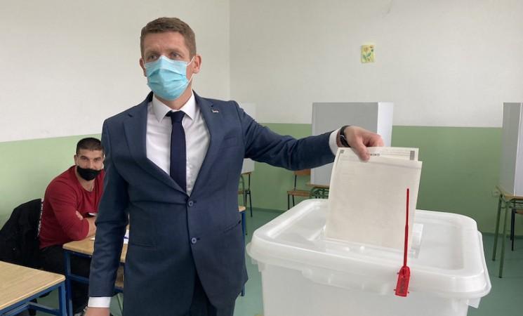 Gacko: Ognjen Milinković ubedljivo vodi