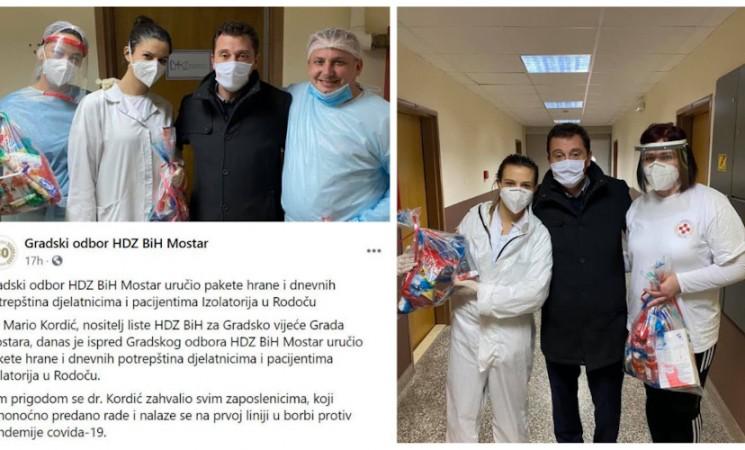 Zloupotreba javnih resursa, djece i COVID-a za političku promociju u Mostaru