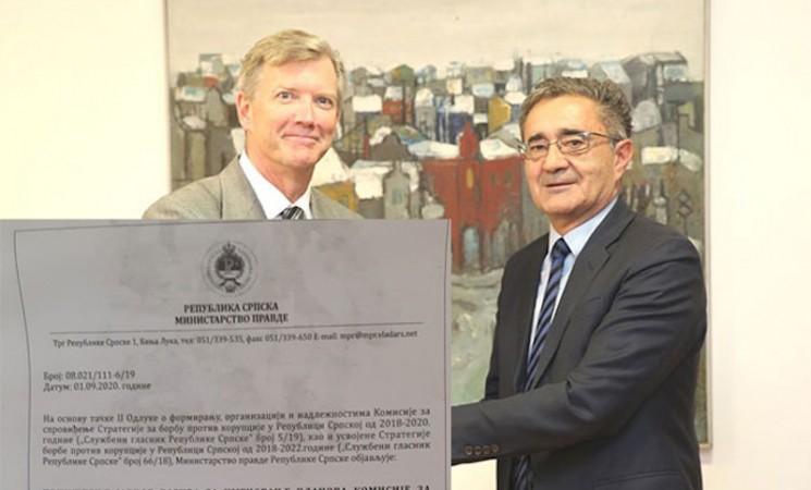 Konačno imenovana Komisija za borbu protiv korupcije u Vladi RS