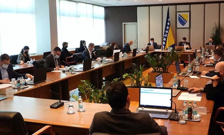 SNSD i HDZ u Savjetu ministara BiH oborili Zakon o javnim nabavkama na kojem insistira EU