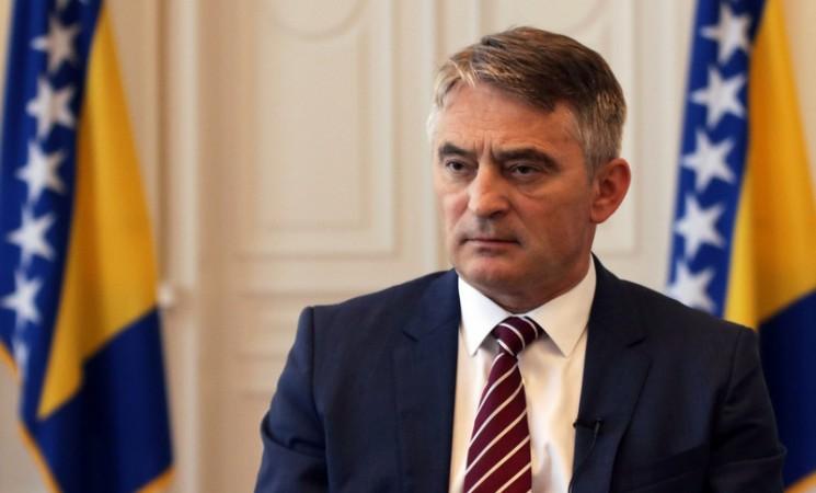 Komšić o izostanku Dodika: On je pod nekom vrstom kazne