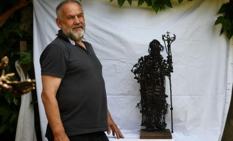"""Autor """"sporne"""" skulpture patrijarha Pavla: Tražili su da odem iz Srbije"""