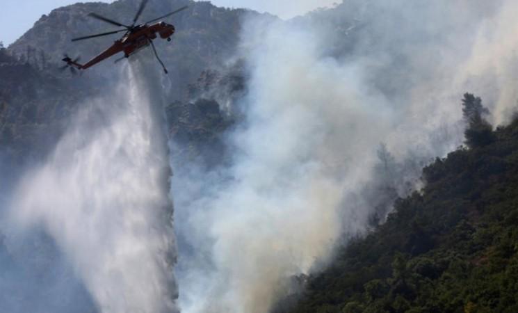Stabilno na požarištima u Bileći, nisu ugroženi stambeni objekti